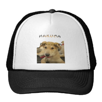 Hakuna Matata I know what you are thinking pinctur Trucker Hat