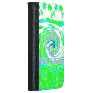 Hakuna Matata I love Surf iPhone 6 wallet case