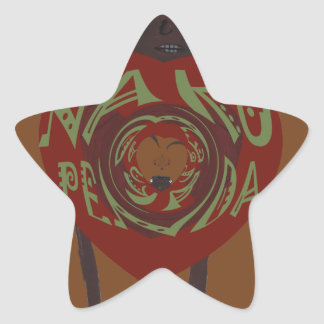 Hakuna Matata I love you Nakupenda Kenya Swahili A Star Sticker