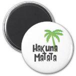 Hakuna Matata Imán Redondo 5 Cm