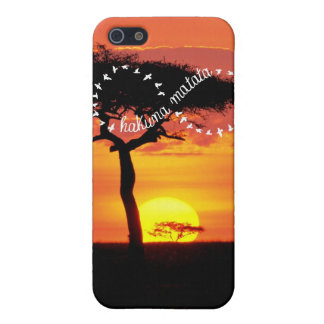 Hakuna Matata Infinity sign iphone 5 case