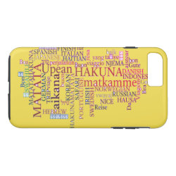 Hakuna Matata iPhone 7 Plus Case