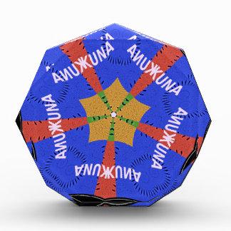 Hakuna Matata Iridiscent Blue Award