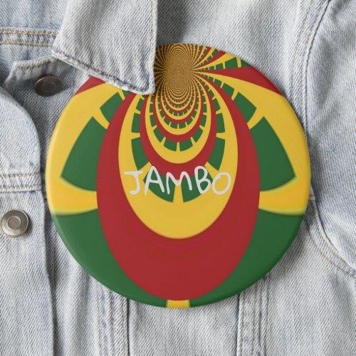 Hakuna Matata Jamaica Rasta Colors fashion Button