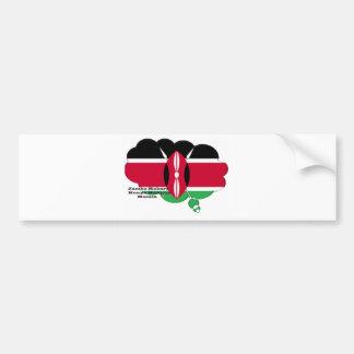Hakuna Matata Jambo Habari Bumper Sticker