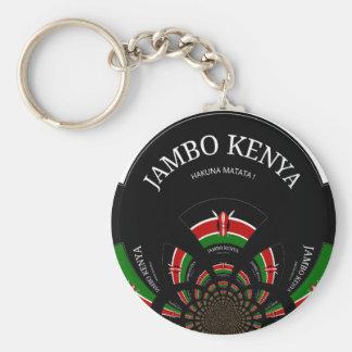 Hakuna Matata Jambo Kenia Llavero Redondo Tipo Chapa