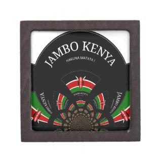 Hakuna Matata Jambo Kenya Premium Trinket Box
