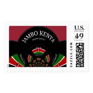 Hakuna Matata Jambo Kenya Zazzle's custom stamps