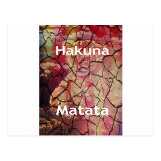Hakuna Matata.JPG Postcard