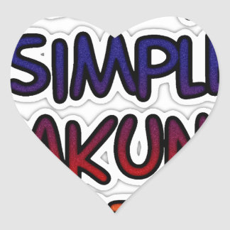 Hakuna Matata Keep it Simple Gifts Sticker
