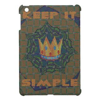 Hakuna matata keep it Simple iPad Mini Cover
