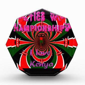 Hakuna Matata Kenya Athletics World Champions I lo Acrylic Award