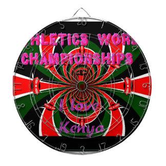 Hakuna Matata Kenya Athletics World Champions I lo Dartboard