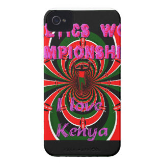 Hakuna Matata Kenya Athletics World Champions I lo iPhone 4 Cover