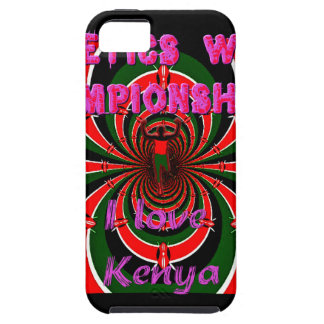 Hakuna Matata Kenya Athletics World Champions I lo iPhone SE/5/5s Case