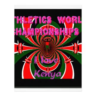 Hakuna Matata Kenya Athletics World Champions I lo Letterhead