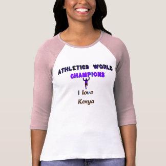 Hakuna Matata Kenya Loves Athletics World Champs T-shirts