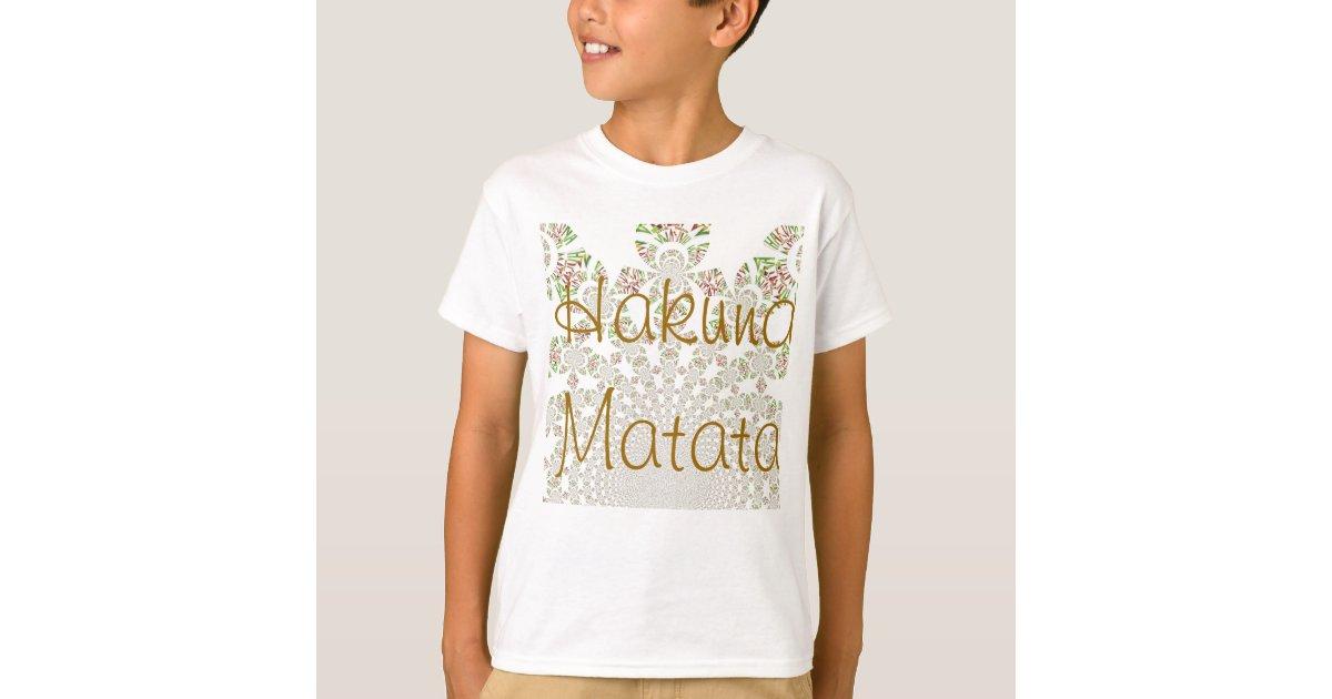 Hakuna matata kids t shirt vertical template zazzle for Zazzle t shirt template