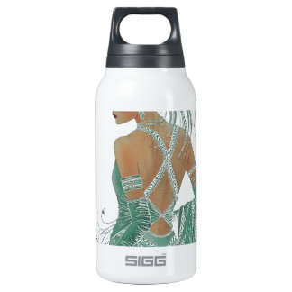 Hakuna Matata Ladies Going Green.png Insulated Water Bottle