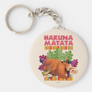 Hakuna Matata Llavero Personalizado