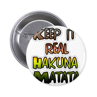 Hakuna Matata lo guarda los regalos reales Pin