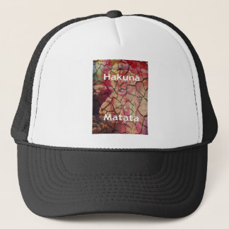 Hakuna Matata. Lovely lion Trucker Hat