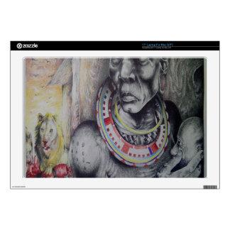 Hakuna Matata Maasai 17 Inch Laptop Skin