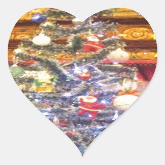 Hakuna Matata Merry Christmas & a Happy New Year.p Heart Sticker