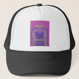 Hakuna Matata Merry Christmas Love  Design.jpg Trucker Hat