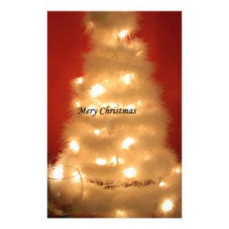 Hakuna Matata Merry Christmas white Custom Stationery