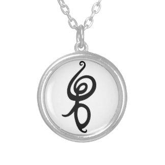 Hakuna Matata Round Pendant Necklace