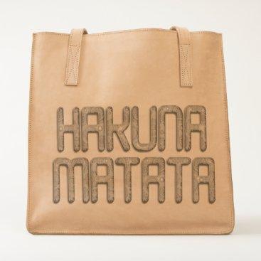 Professional Business Hakuna Matata Nice Lovely Handmade Make it Kenyan Tote