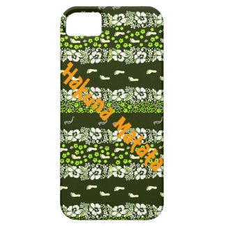 Hakuna Matata-Ningún preocupación-para el resto de iPhone 5 Carcasas