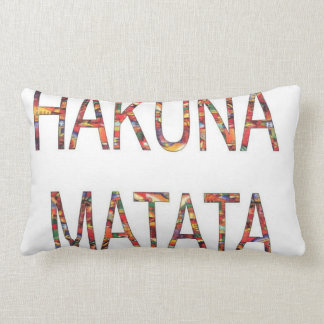 Hakuna Matata ningún problema Cojín