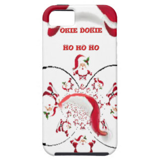 Hakuna Matata Okie Dokie hohoho Santa Christmas sp iPhone SE/5/5s Case