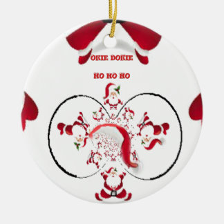 Hakuna Matata Okie Dokie hohoho Santa Christmas sp Christmas Ornament