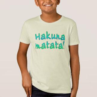 Hakuna Matata on T-shirts, Hoodies, Mugs T-Shirt