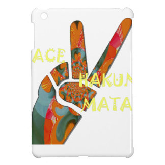 Hakuna Matata Peace iPad Mini Cover