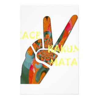 Hakuna Matata Peace Stationery