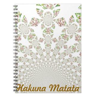 Hakuna Matata personaliza el cuaderno