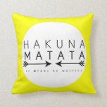Hakuna Matata Pillow