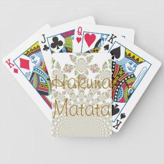 Hakuna Matata Playing Cards
