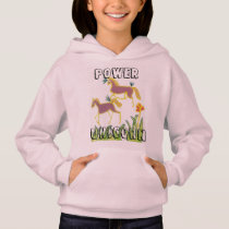 Hakuna Matata Power Unicorn Kids Hoodie