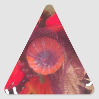 Hakuna Matata Pumkin special Gift Fruit Basket.png Triangle Sticker