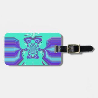 Hakuna Matata Purple blend Bag Tags