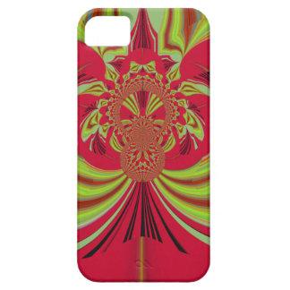 Hakuna Matata red yellow design iPhone SE/5/5s Case