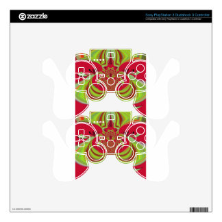 Hakuna Matata red yellow design PS3 Controller Decals