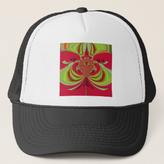 Hakuna Matata red yellow design Trucker Hat
