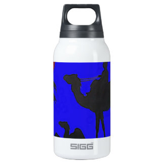Hakuna Matata safari Blue sky Sunset Thermos Bottle