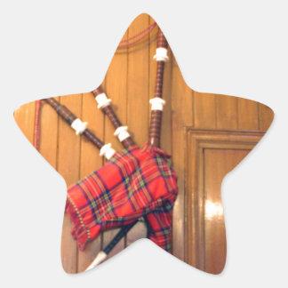 Hakuna Matata Scotland Musical bagpipe Gifts.png Star Sticker